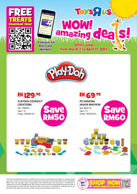 "Toys ""R"" Us Malaysia WOW! Amazing Deals Play-doh"