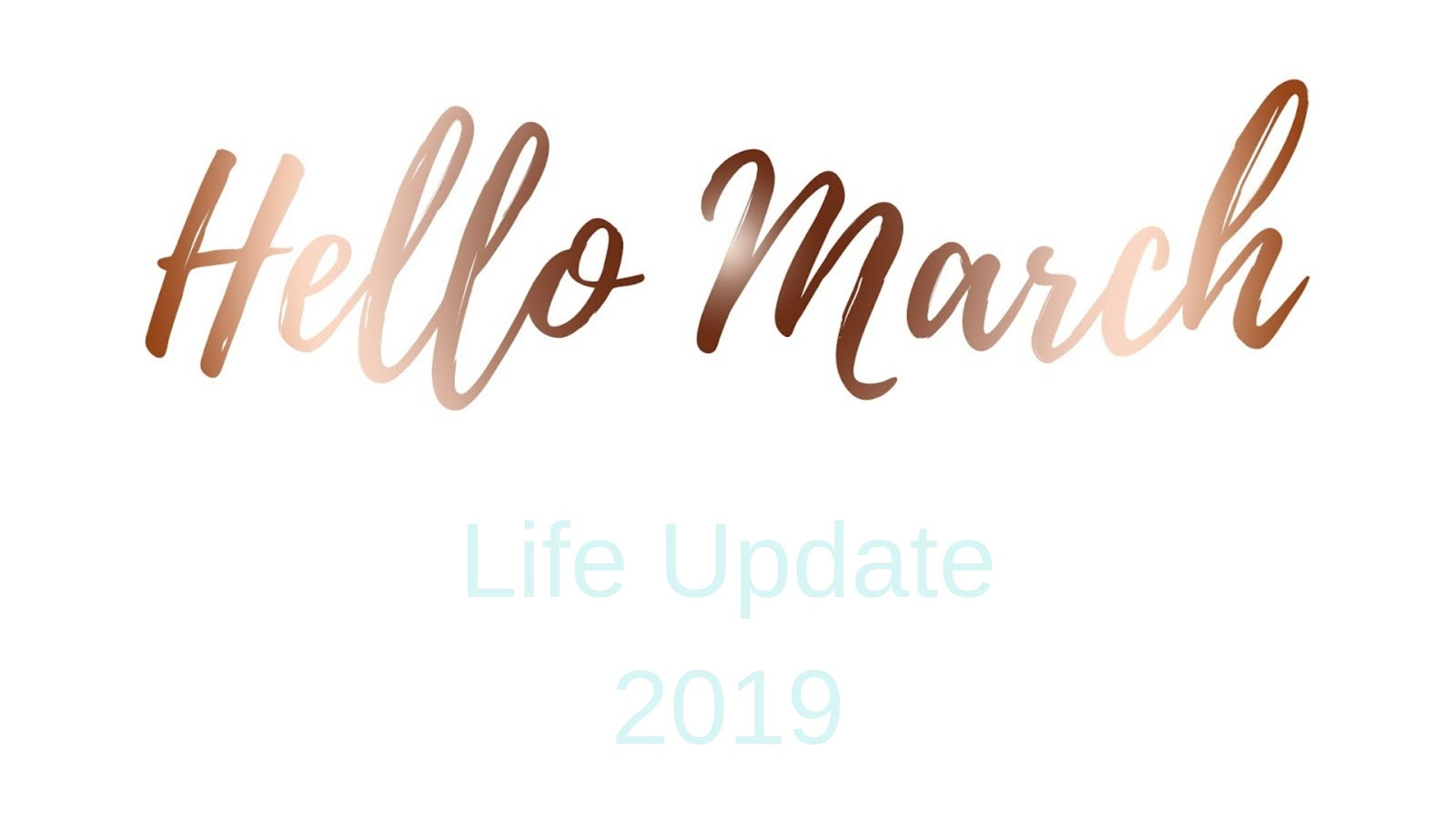 Stephanie Kamp Blog: March Life Update 2019