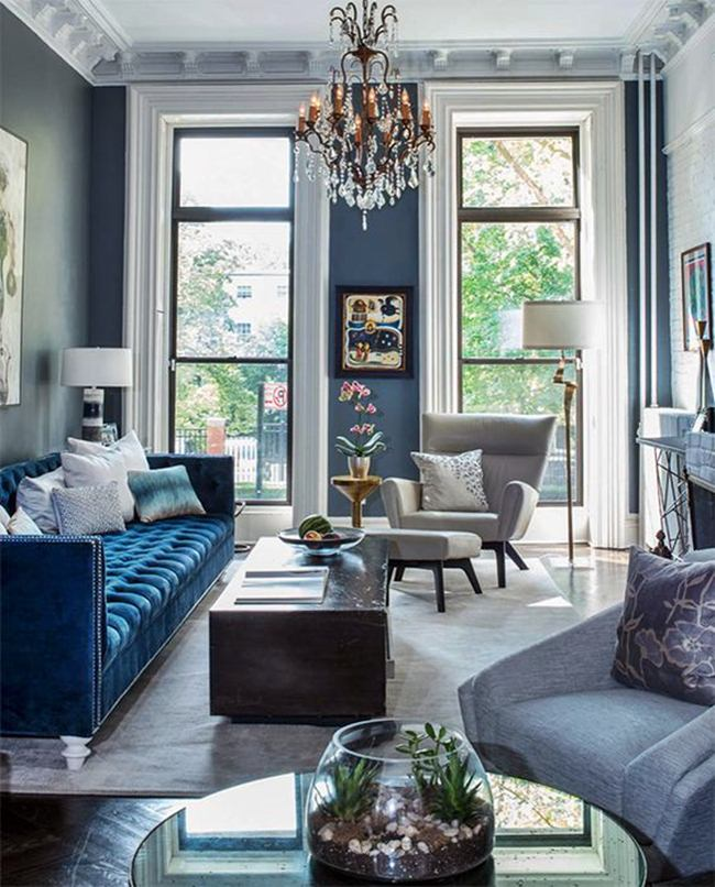 10 Blue And Grey Living Room Color Ideas Dream House