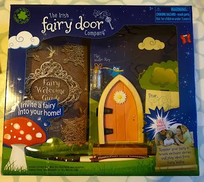A fairy door in packaging from The Irish Fairy Door Company
