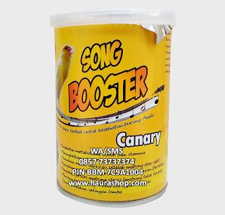 Song Bosster Canary adalah Pakan suplemen alami berkualitas yang bisa digunakan untuk semua jenis burung kenari