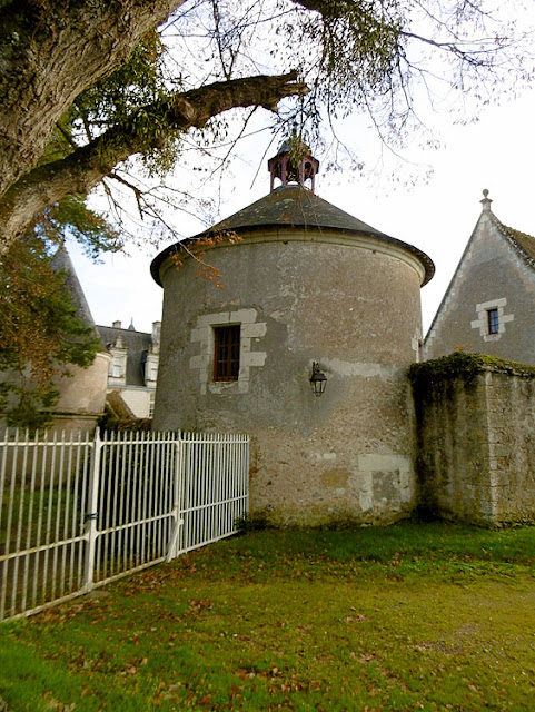 Dovecote, Chateau de Nitray, Indre et Loire, France. Photo by Loire Valley Time Travel.