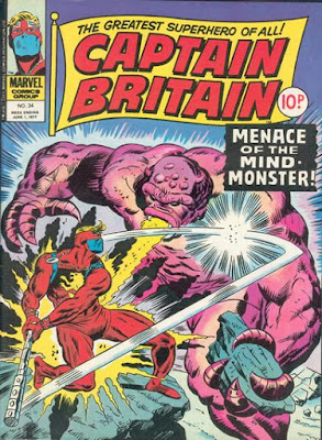 Marvel UK Captain Britain #34