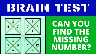 Can you find the value of the missing number