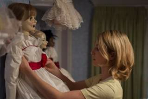 Don't worry - the Annabelle doll hasn't escaped from the hidden Warns Museum