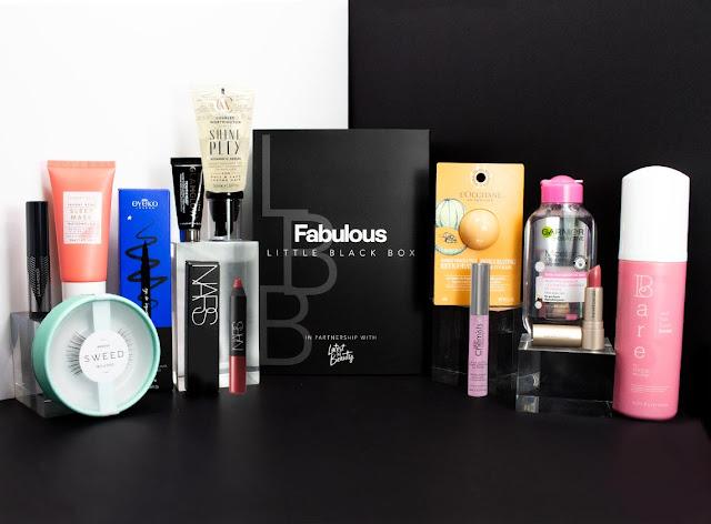 LATEST IN BEAUTY X FABULOUS LITTLE BLACK BOX BEAUTY BOX