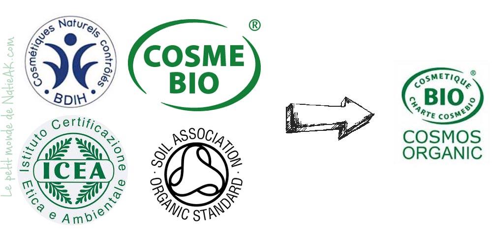 label bio cosmétique
