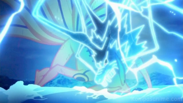 Ninjutsu raiton yang sangat kuat milik Sasuke Uchiha