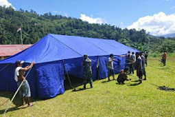 Pasca Gempa 6,1 SR di Malra, TNI Gabung Dalam Tim Terpadu