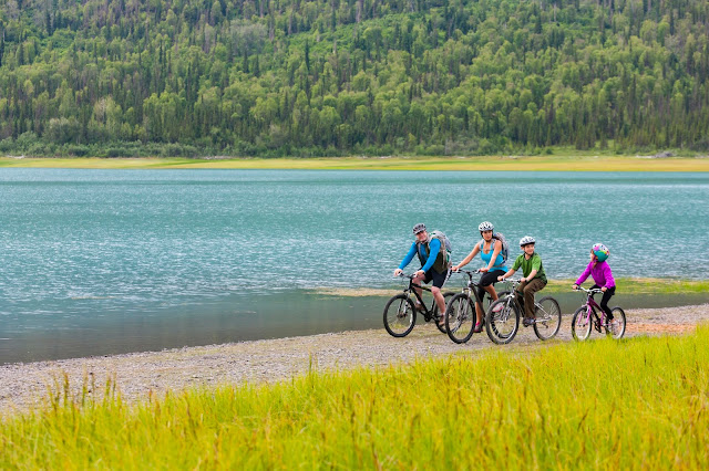 Cycling in Alaska