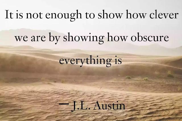 J.L. Austin Quotes