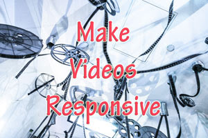 HOW TO MAKE EMBEDDED YOUTUBE VIDEOS RESPONSIVE | BLOGGER & OHTER PLATFORMS