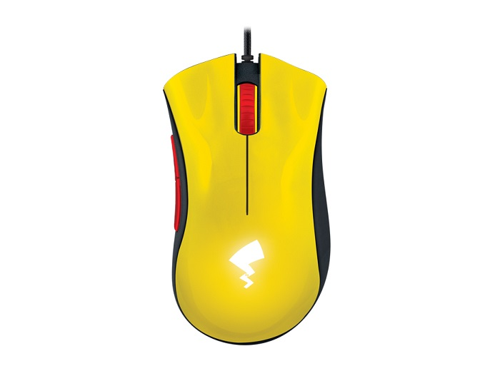 Razer Pikachu-themed DeathAdder Essential gaming mouse