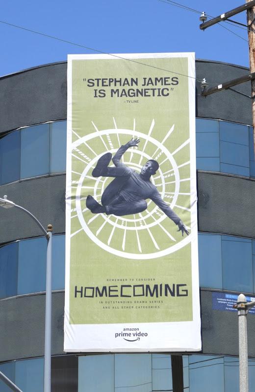 Stephan James Homecoming 2019 Emmy FYC billboard