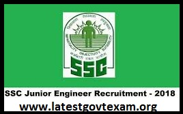 SSC Recruitment (2019) - Vaccancies of Junior Engineer