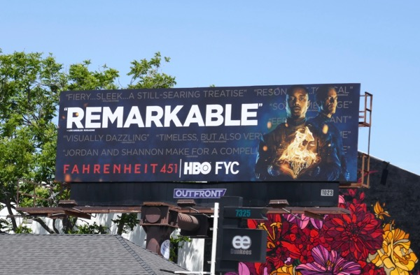 Fahrenheit 451 Remarkable Emmy FYC billboard