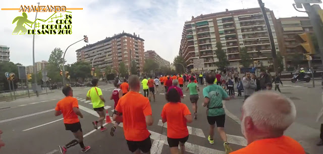 Analizando 38ª Cros Popular de Sants - Avinguda Madrid