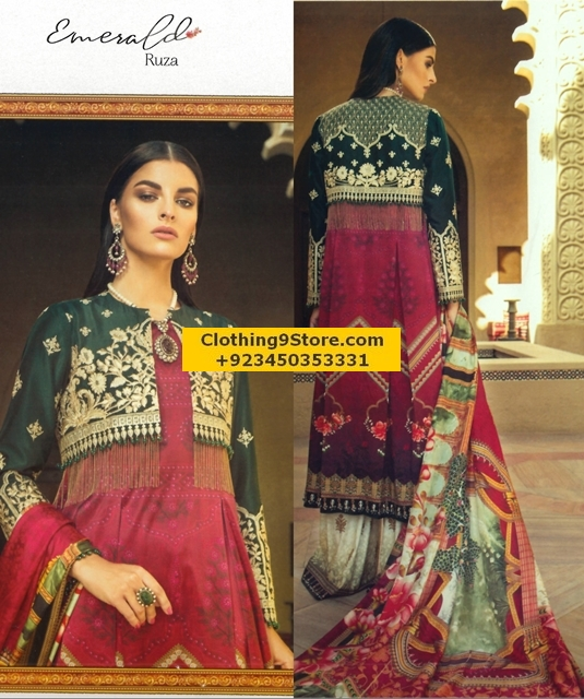 Elan's new silk collection for Eve Parties