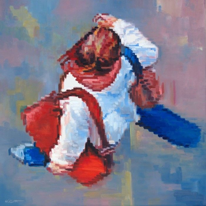 Пиксельный импрессионизм. Warren Keating