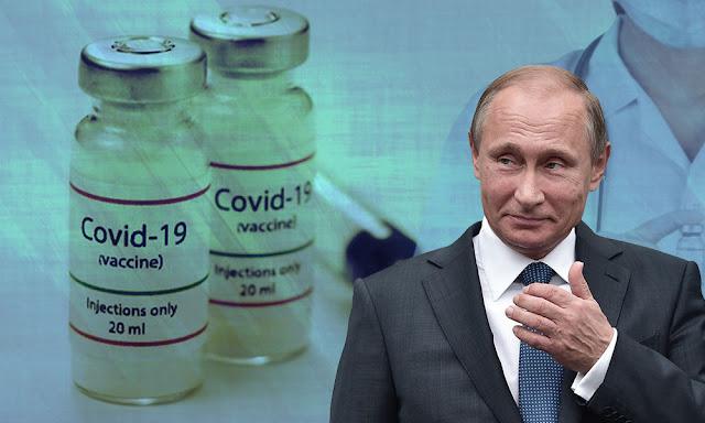 """بوتين: روسيا طورت """"أول"""" لقاح مضاد لكوفيد-19"""