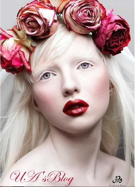 Meet The Most Beautiful Albino Girl In The World (Photos)