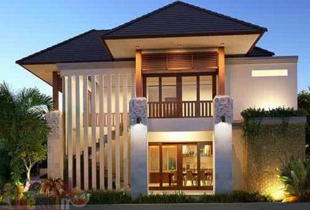 Minimalist House 2 Floors with Garage Flexible