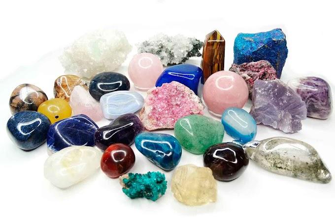 Bienvenidos al poder de los minerales magicos.