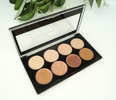 Cream Concelealer & Contour Palette city color