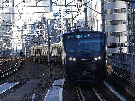 【ダイヤ改正で定期化!】12000系の埼京線 大和行き