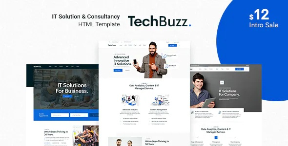 Best Technology IT Solutions & Services HTML5 Template