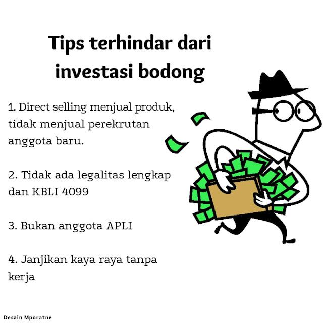 Ciri investasi bodong