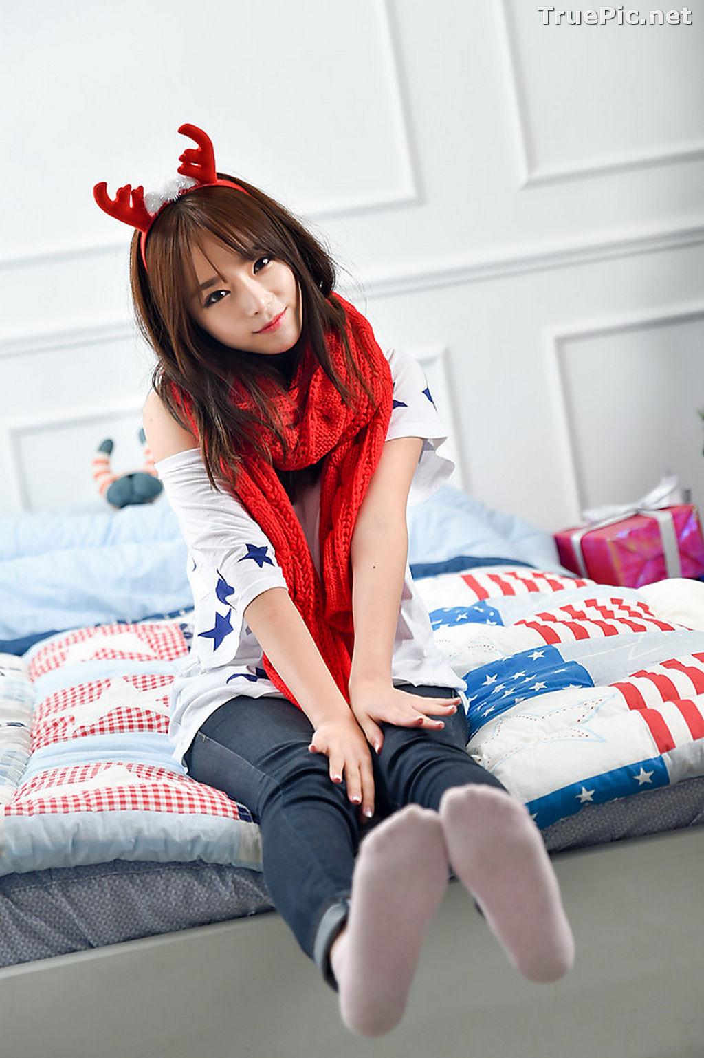 Image Korean Beautiful Model – Ji Yeon – My Cute Princess #2 - TruePic.net - Picture-3