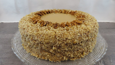 Torta s Orasima i Kavom   Coffee Walnut Cake