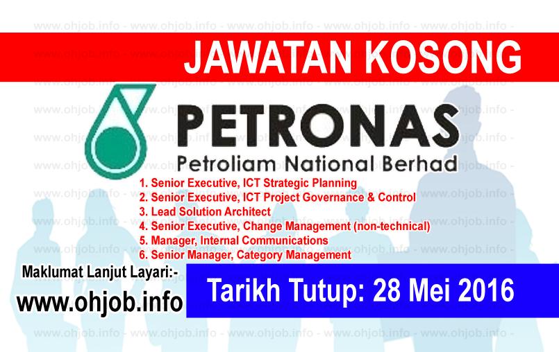 Jawatan Kerja Kosong Petronas ICT Sdn Bhd logo www.ohjob.info mei 2016