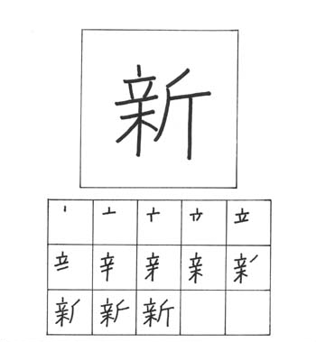 kanji baru