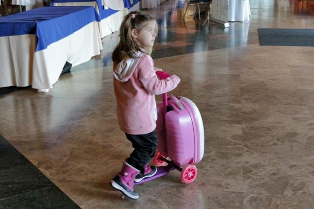 Trolley Infantil Monopatín