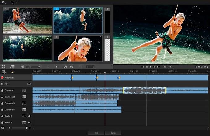 تحميل أفضل برنامج مونتاج  للاجهزة الضعيفة Video Studio Pro 2020