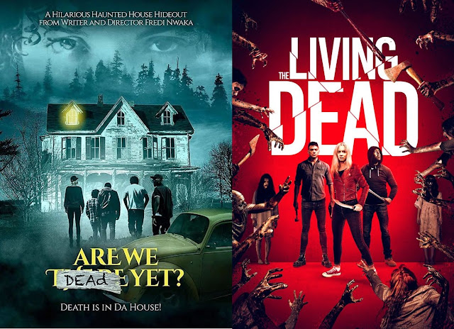 Are We Dead Yet - The Living Dead (poster a confronto)
