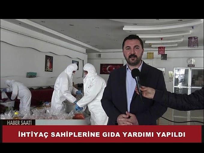 Turhal Belediyesi tarafından ilçede, koronavirüs salgını nedeniyle evinden çıkamayan,