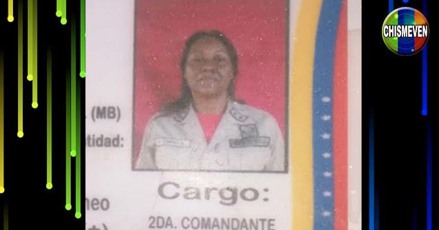 Miliciana Chaburra fue asesinada por sus propios concañeros en los Valles del Tuy