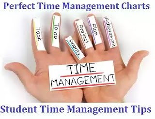 How To Make A Perfect Time Management Charts for a Success ?  Student Time Management Tips