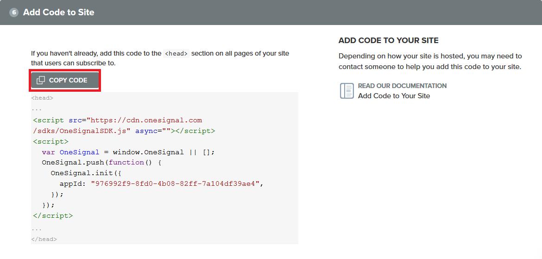 Mendapatkan Kode