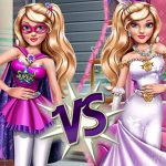 Superhero Vs Princess