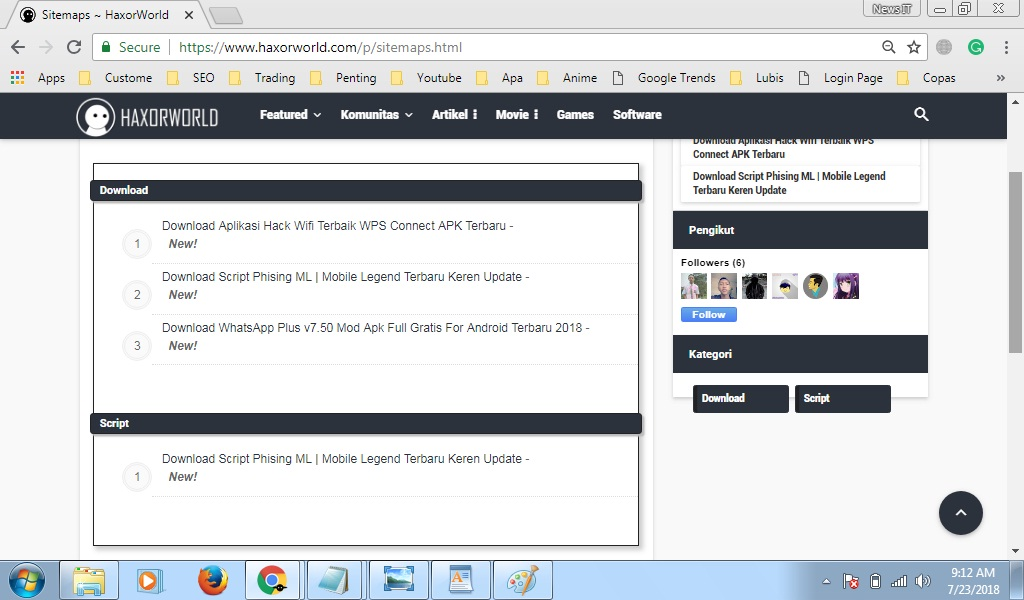 Cara Membuat Sitemap SEO Keren Di Blogger