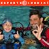 Atletas do Peama vivenciam dia de mergulho na ESEF