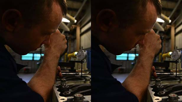 While repairing any machine, when your hands are soaked with oil and grease, immediately you start feeling itch on your nose.