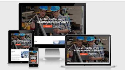 Resiston Industrial Business Wordpress Theme