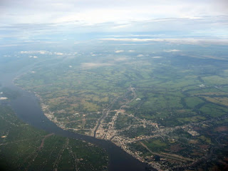 Veduta aerea della città di Can Tho (Delta del Mekong, Vietnam)
