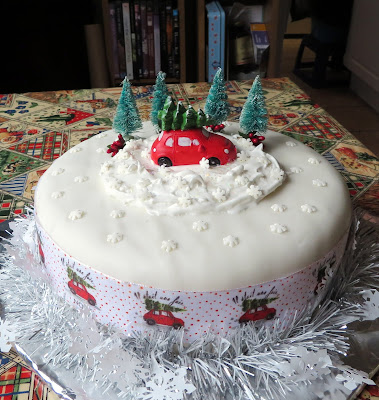 Christmas Cake 2019 (tutorial)