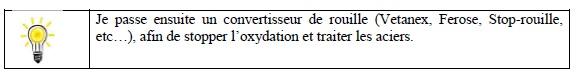Ecm renovation cloture r fection d 39 un portillon m tallique - Enlever trace de rouille ...